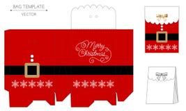 Christmas bag design Royalty Free Stock Image