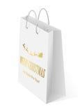 Christmas bag Royalty Free Stock Photography