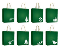 Christmas bags Royalty Free Stock Photography
