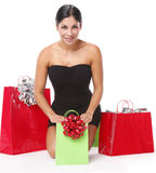 Christmas bags Royalty Free Stock Photo