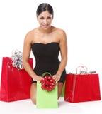 Christmas bags Royalty Free Stock Photo