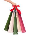 Christmas Bags Stock Photos