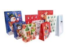 Christmas Bags Stock Photography