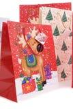 Christmas Bags Royalty Free Stock Photos