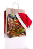 Christmas bags Royalty Free Stock Image