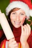 Christmas baker Royalty Free Stock Image