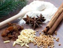 Christmas and bakery Stock Image