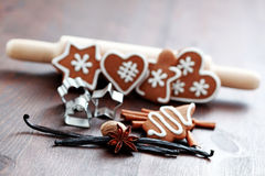 Christmas baking Stock Images