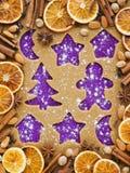 Christmas baking Royalty Free Stock Photos