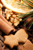 Christmas baking Stock Photo