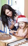 Christmas baking Stock Photography