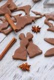 Christmas baking background Stock Photos