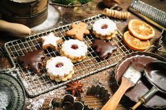 Christmas baking Royalty Free Stock Photo
