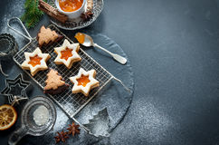 Christmas baking Stock Photography