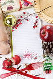 Christmas baking concept Stock Images