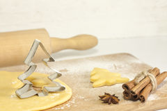 Christmas baking food concept Stock Photography