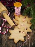 Christmas baking. Royalty Free Stock Image