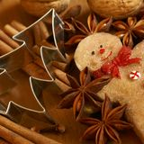 Christmas baking Stock Photos