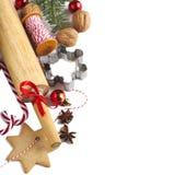 Christmas baking Royalty Free Stock Image