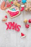 Christmas baking Royalty Free Stock Images