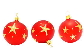 Christmas ball. Christmas ball  isolated on the white background Royalty Free Stock Images