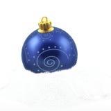 Christmas ball. Decorated christmas ball isolated on white Stock Photo
