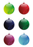 Christmas ball Stock Photography
