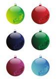 Christmas ball. Vector image of christmas ball decoration Stock Photography