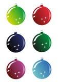 Christmas ball. Vector image of christmas ball decoration Royalty Free Stock Photography