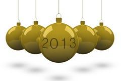 Christmas ball 2013. Stock Photography