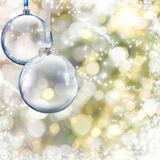 Christmas ball Stock Images