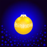 A Christmas ball Stock Image