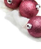 Christmas ball. Christmas ball with a white background Stock Images