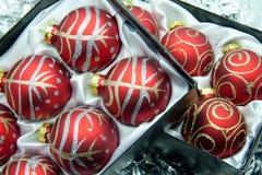 Christmas ball. Christmas ball for the decorations Christmas day Stock Images