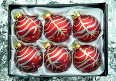 Christmas ball. Christmas ball for the decorations Christmas day Stock Photography