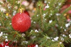 Christmas Ball. On a Christmas tree Royalty Free Stock Photo