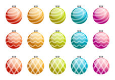 Christmas ball. Set; christmas decoration Royalty Free Stock Photography