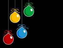 Christmas ball Stock Image