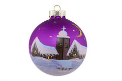 Christmas ball. At Christmas, the Christmas tree will decorated with christmas ball Royalty Free Stock Images