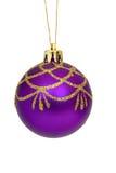Christmas ball. On white Royalty Free Stock Image