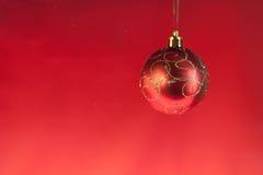 Christmas ball on abstract light Stock Photo