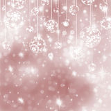 Christmas ball on abstract light background. EPS 8 Stock Photography