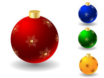 Christmas ball any color Royalty Free Stock Photography