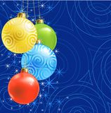 Christmas ball /  background Royalty Free Stock Photos