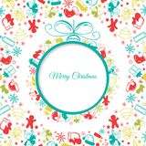Christmas ball background abstract Stock Photography