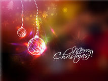 Christmas Ball Background Royalty Free Stock Images