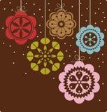 Christmas ball background design Royalty Free Stock Photo