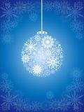 Christmas ball background Stock Photography
