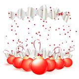 Christmas ball background Stock Photography