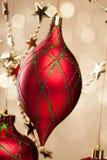 Christmas ball on  background Stock Image